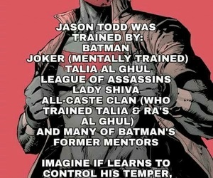 DC, red hood, and jason todd image