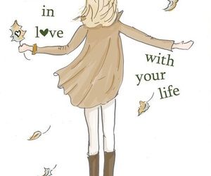 love, autumn, and quotes image