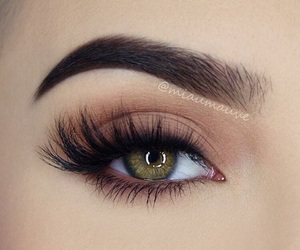 beauty, brown, and eye image