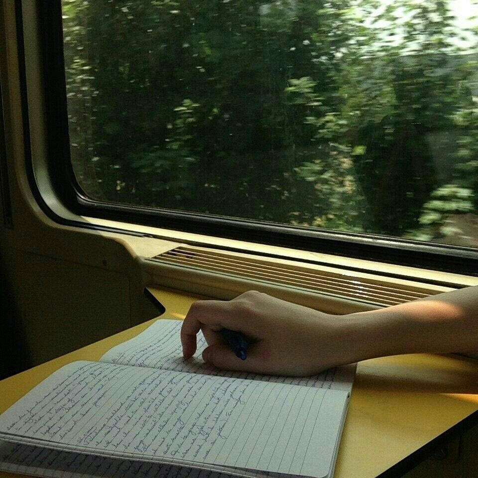 train, aesthetic, and travel image