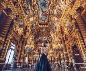 dress, black, and castle image