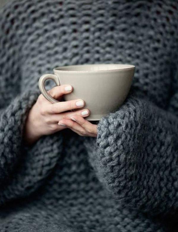 tea, coffee, and autumn image
