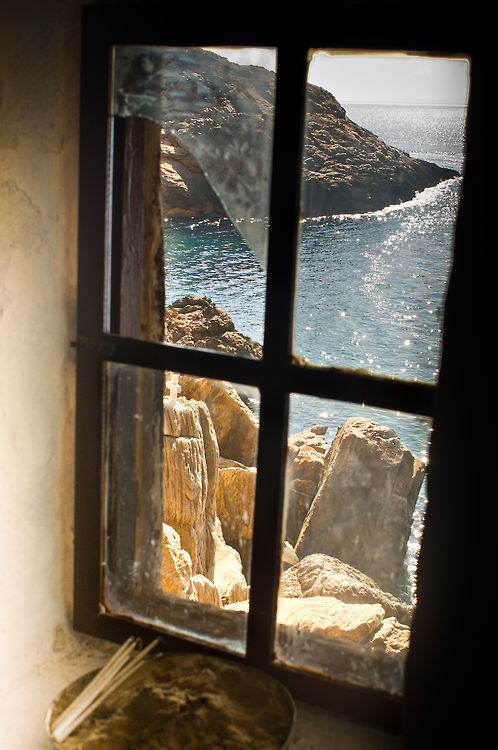 window, ocean, and sea image