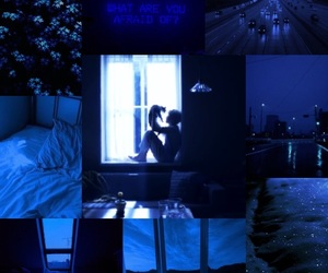 aesthetic, jimin, and blue image