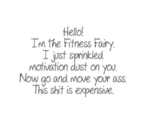 fitness, motivation, and fairy image