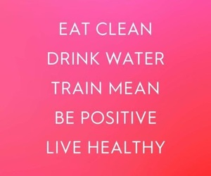 healthy, positive, and water image