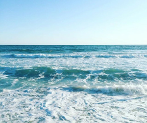 sea, view, and narure image