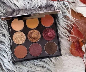 makeup, autumn, and beauty image