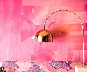 pink and lamp image