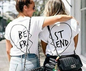 accessories, besties, and fashion image