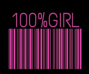 girl, pink, and wallpaper image