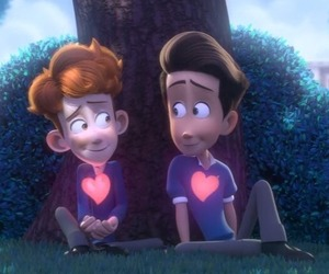 in a heartbeat and love image