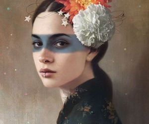 art, tom bagshaw, and painting image