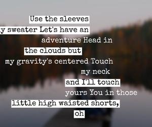 easel, fall, and Lyrics image