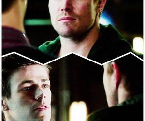 oliver queen, stephen amell, and flarrow image