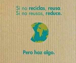 eco, planeta, and recicla image