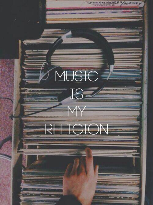 music, religion, and life image