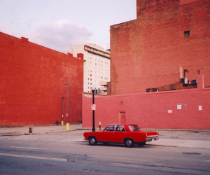 car, indie, and red image