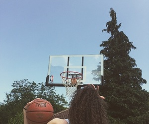Basketball, curly hair, and Dream image