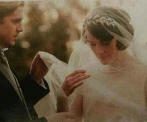 downton abbey and wedding image