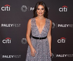 lea michele and paleyfest 2017 image