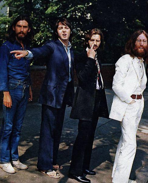 the beatles, Paul McCartney, and john lennon image