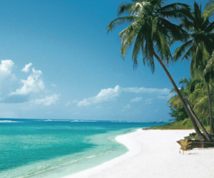 beaches, beach lovers, and Caribbean image