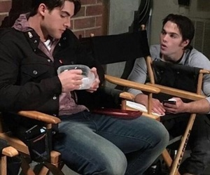 cody, dylan, and teen wolf image