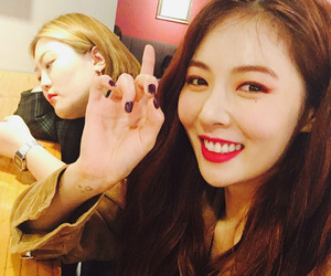 kim, selca, and hyuna image