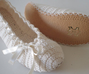 ballet flats, bridal shoes, and flats shoes image