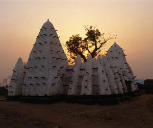 architecture, ghana, and muslim image