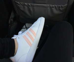 adidas, aesthetic, and pink image