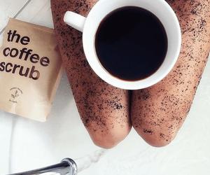 coffee and scrub image