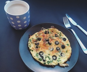 coffee, eggs, and food image