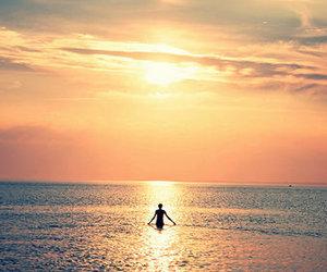 sea, photography, and beach image