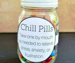 art, chill, and pills image