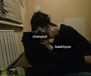 chanyeol, baekhyun, and chanbaek image
