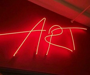 red, art, and aesthetic image