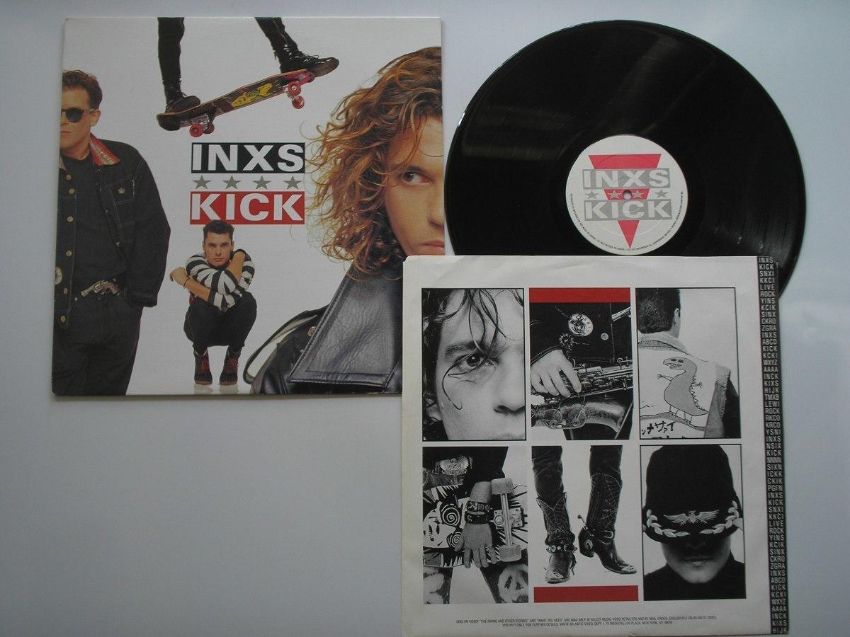 album, article, and INXS image