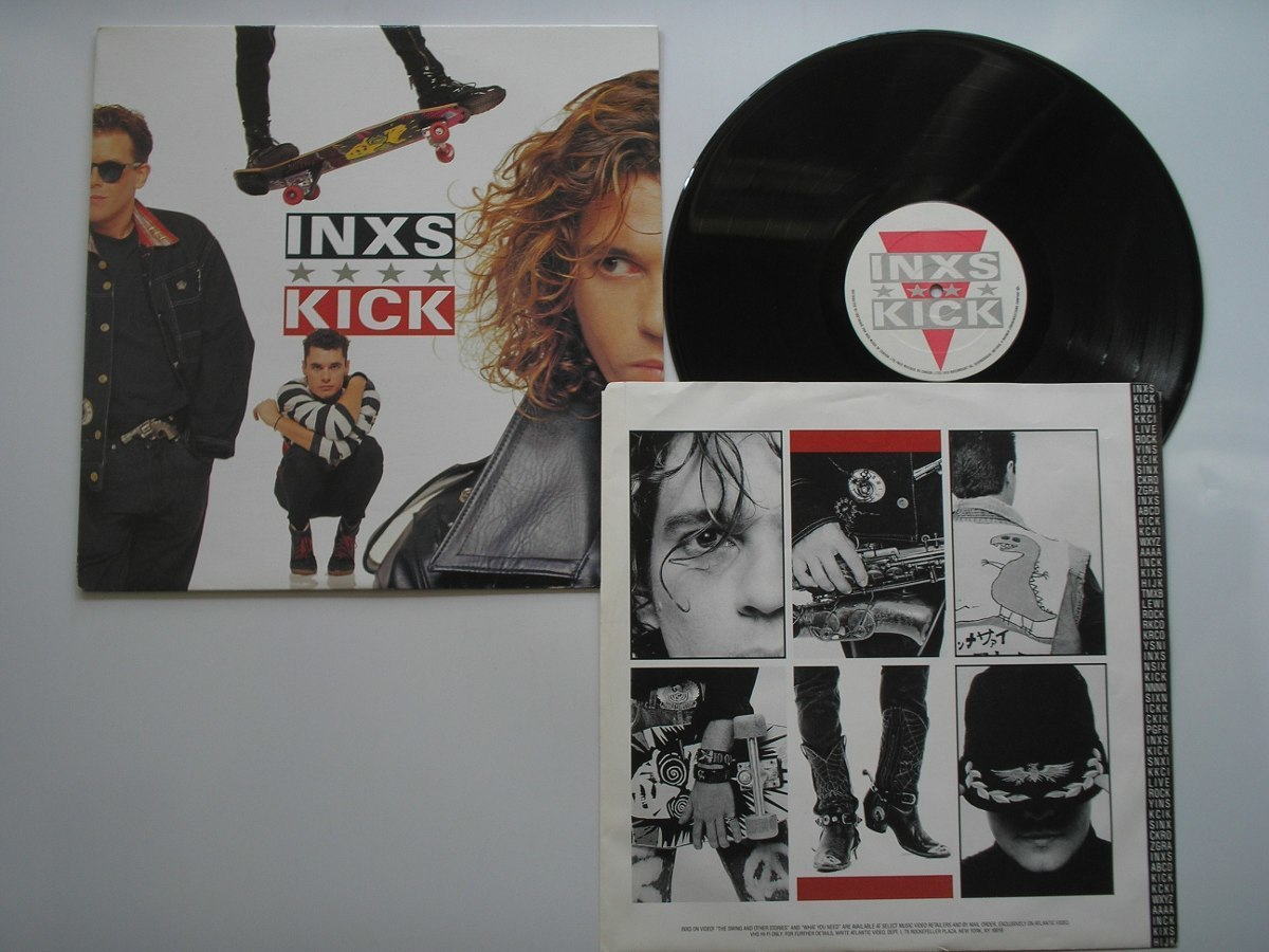 album, article, and INXS image