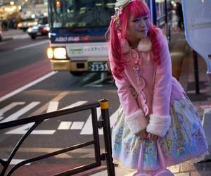 city, Harajuku, and dress image