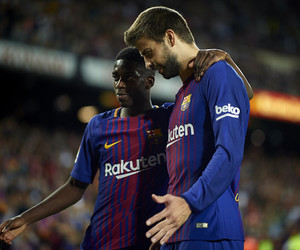 Barcelona, pique, and dembele image