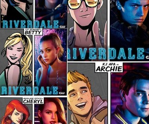 Archie, Cheryl, and cast image