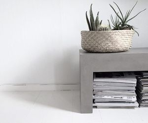 aesthetic, decor, and gray image