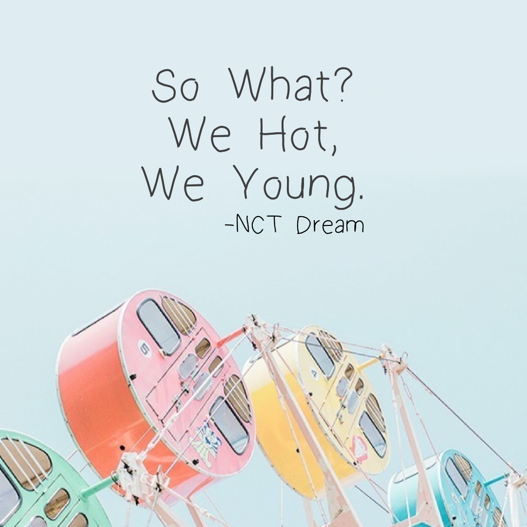 Nct Dream Lyrics Shared By Tæyøngs Cųrė On We Heart It