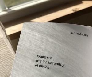 myself, quotes, and milk&honey image