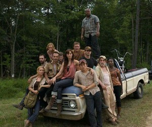 the walking dead, cast, and family image