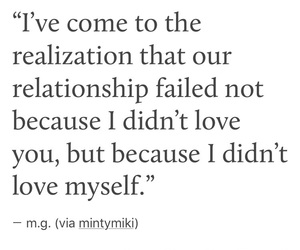 depression, Relationship, and quote image