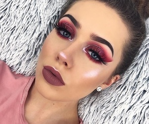 girls, makeup, and style image
