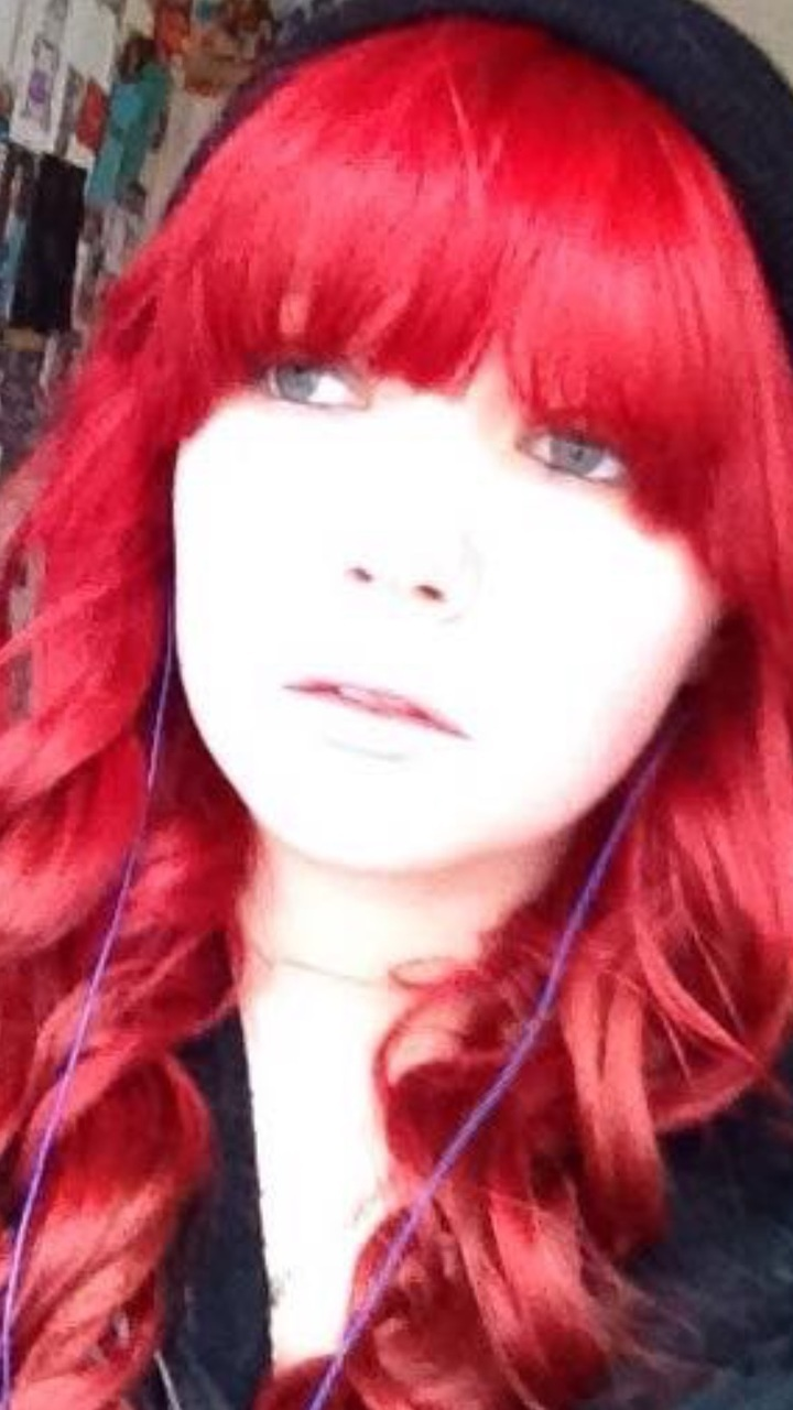 me, red hair, and my photo image